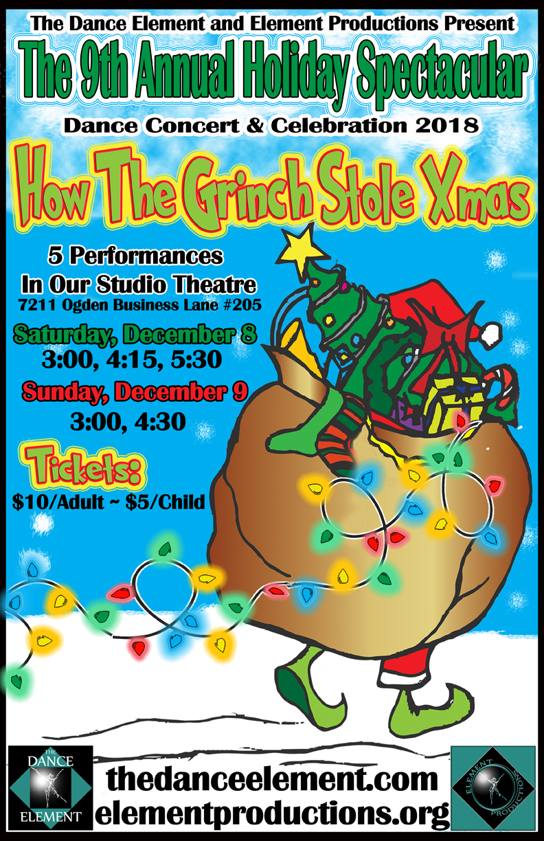Get tickets to The Grinch, upcoming Dance Production in Wilmington NC