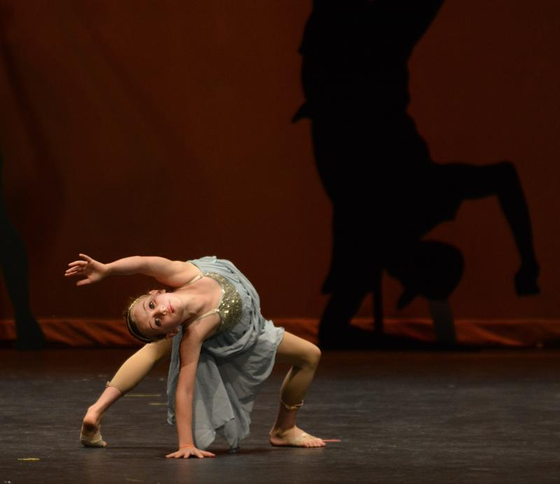 Contemporary Dance students ages 7 to 11 progress quickly in our dance classes