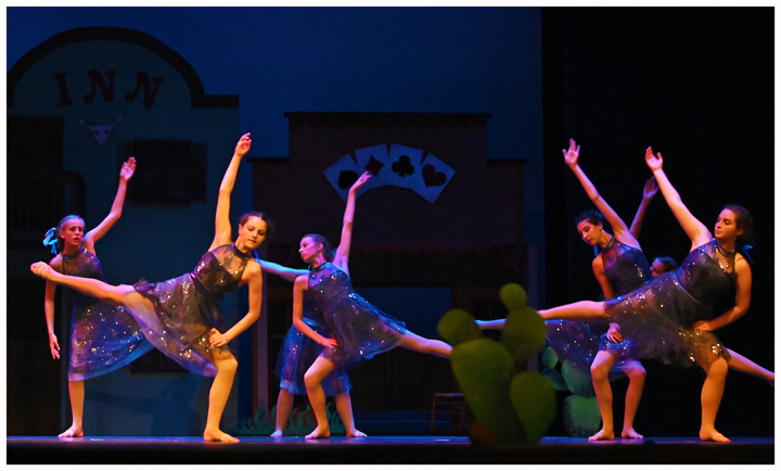 Teenagers enjoy learning ballet, hip hop, & dance at The Dance Element studio.