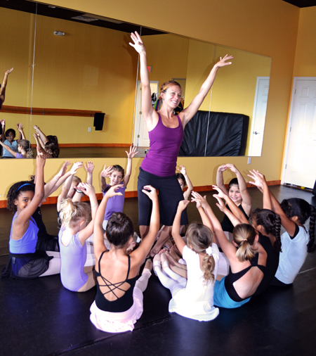 The Dance Element studio employs the finest arts educators in Wilmington NC.