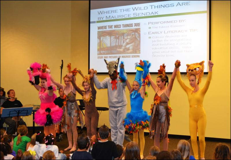 Dance & Theater Performances in Wilmington NC inspire and motivate dance student