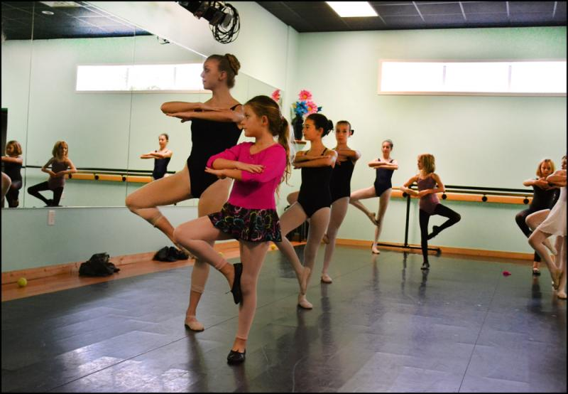 Summer dance classes are a good opportunity to try dance for the first time!