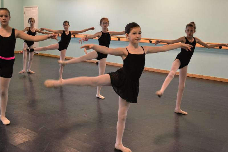 Classical Ballet training at The Dance Element of Wilmington NC
