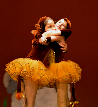 Lifelong friendships are formed in dance classes for 5 to 8 year old kids!