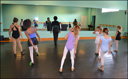 The Dance Element studio offers dance classes for Home School students