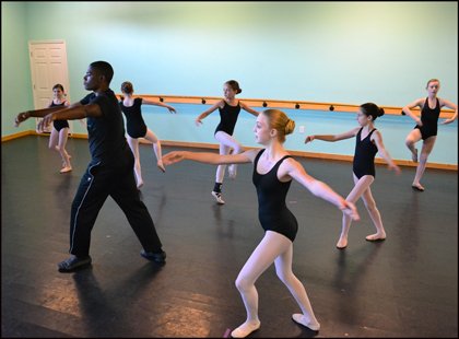 Boys & Girls enjoy ballet classes with professional teachers in Wilmington NC.