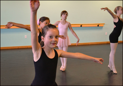 Ballet classes are fun and challenging at The Dance Element in Wilmington NC