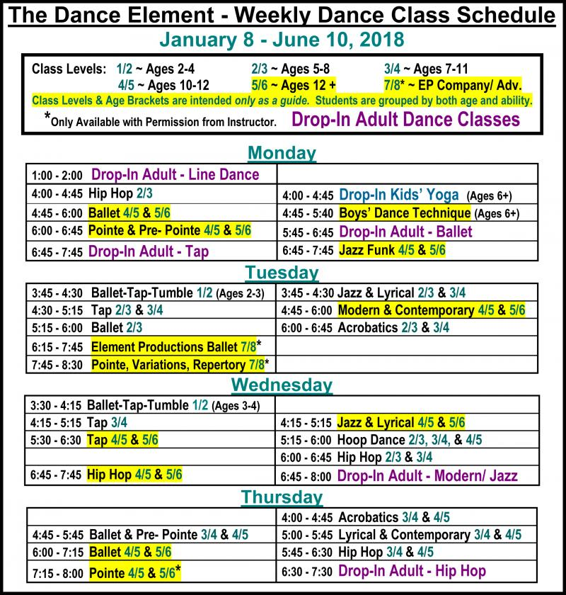 Ballet, Hip Hop, & Contemporary Dance Classes for Teenagers in Wilmington NC