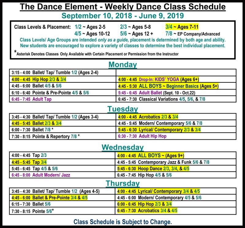 Hip Hop, Ballet, & Dance Classes for 7, 8, 9, 10, 11 year old near me