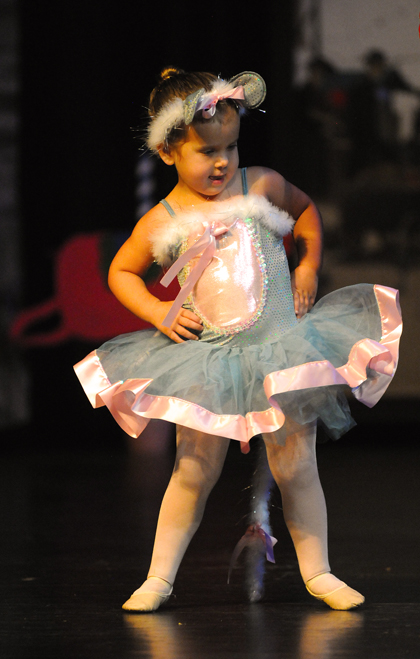 Preschool Ballet and Creative Movement Classes are offered at The Dance Element