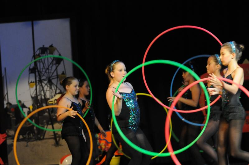 Hoop Dance classes for kids and adults are at The Dance Element in Wilmington NC
