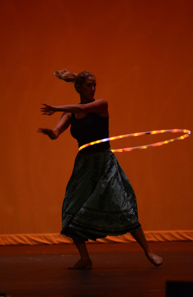 The Dance Element in Wilmington NC offers Hoop Dance Classes for kids & Adults