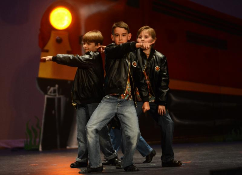 Boys love learning to dance at The Dance Element studio in Wilmington NC.