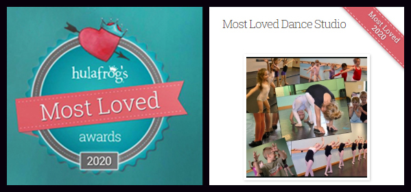 The Dance Element was voted Most Loved dance studio in Wilmington NC