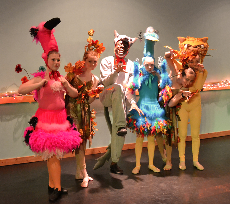 The Dance Element performs a tribute to Maurice Sendak at the Public Library