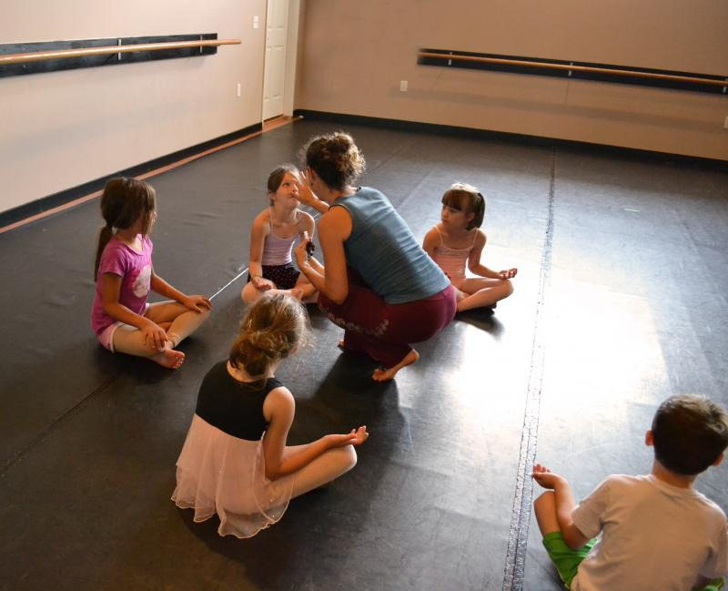 Professional dance teachers guide dance students at our studio in Wilmiington NC